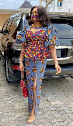 Caring Is Sharing Best African Dresses, African Fashion Ankara, Latest African Fashion Dresses, African Print Dresses, African Print Fashion, African Attire, African Print Jumpsuit, African Print Clothing, Trendy Ankara Styles