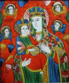 Украинский наив икона на стекле, фото № 7 Ikon, Glass, Painting, Art, Art Background, Drinkware, Corning Glass, Painting Art, Kunst