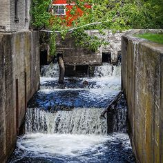 Lock 1 on the Feeder Canal