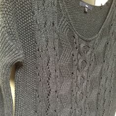 Navy Open Knit Sweater Stay warm and cozy in this open knit sweater. Perfect condition! GAP Sweaters Crew & Scoop Necks