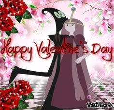 Nergal And Princess Bubblegum In Happy Valentine's Day For Best Romantic Love Married <3<3<3