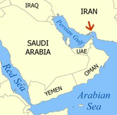 Nearly 20% of the worlds oil supply travels through the Straight of Hormuz.