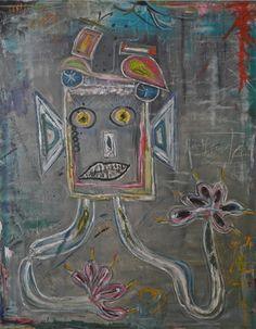 "Saatchi Online Artist Siro Carraro; Painting, ""Abbi Cura Di Te"" #art"