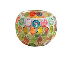 niceeshop(TM) Mosaic Glass Tealight Candle Holder Candle Lantern Centerpieces For Home Decorations (Colorful) niceeshop http://www.amazon.com/dp/B00W6XFVSK/ref=cm_sw_r_pi_dp_s13swb11H5997