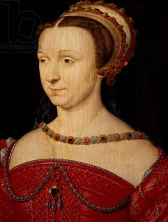 Anna d'Este (1531 1607). The eldest daughter of the Duke of Ferrara Ercole II (son of Lucrezia Borgia and grandson of Pope Alexander VI) and his wife, Renée of France (daughter of King Louis XII of France). She grew up in Ferrara, where she received an excellent education. The future writer and scholar Olympia Fulvia Morata was chosen as one of her companions at court.