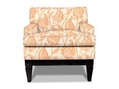 Jonathan Adler Junior Templeton Chair  upholstered in Tuileries Tangerine
