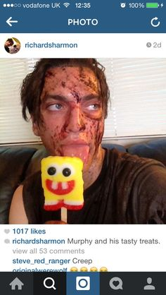 Richard Harmon || I love this guy :D || The 100 cast || John Murphy