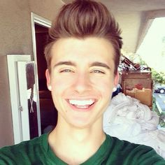 he's so cute! #chris #collins