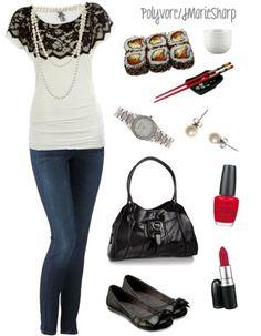 Sushi date attire? Don't like sushi. like the shirt!
