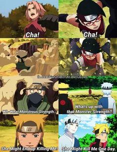 Like Mother like Daughter ❤️ Sarada and Sakura ❤️ Queens of the Fist ❤️ Episode 41 ❤️❤️❤️