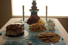 prom dinner #dessert table #prom #prom dinner # formal dinner