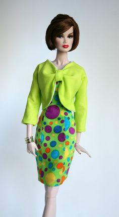 Dress and Jacket for Barbie Silkstone Fashion Royalty Dolls