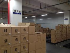 9. Warehouse Shipping Area