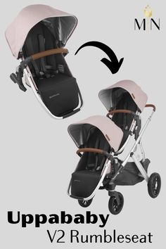 The V2 Rumbleseat by Uppababy is the perfect upgrade to your Vista Stroller when your little one no longer fits in the Vista bassinet...with having the Rumbleseat, you can easily go from a single to double stroller in a matter of minutes!