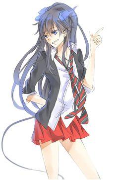 Rin (Ao no Exorcist) Ao No Exorcist, Blue Exorcist Anime, Blue Exorcist Cosplay, Rin Okumura, Shiro, Sailor Moon, Anime Manga, Anime Art, Gender Bender Anime