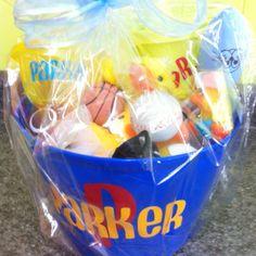 Babys first easter basket inspiring ideas pinterest easter easter baskets for 10 month old by lindsay davis negle Gallery