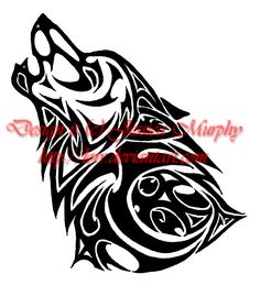 native american stylized wolf | user posted image