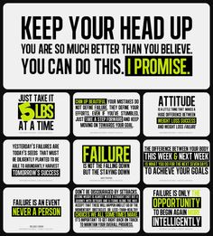 Keep your head up. You are so much better than you believe. You can do this. I PROMISE.