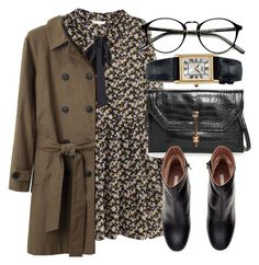 """""""Untitled #4906"""" by laurenmboot ❤ liked on Polyvore featuring H&M, MANGO, Steven Alan and Seiko"""