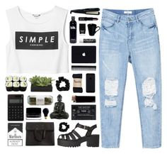"""Tamara / my style tag"" by tamy55 ❤ liked on Polyvore featuring Monki, Lux-Art Silks, Remington, Butter London, GHD, Lord & Berry, Miss Selfridge, Maison Margiela, Muji and Illamasqua"