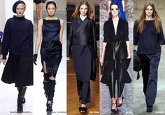 Ink - Colour Forecast Fall/Winter 2014/2015 - Runway Women's Fashion ...