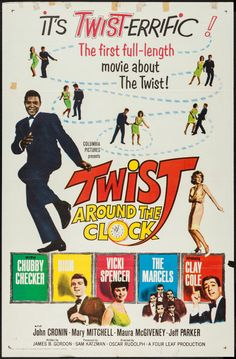 Chubby Checker was still cashing in on his dance craze known as the Twist (which hit the country like a tsunami the previous year).  The film Twist Around the Clock was released at the end of the year, right around New Year's Eve.