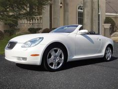 """Lexus SC 430 """"girly"""". A superb, female friendly convertible that subbed for Brenda for 4 moths while the B was at the shop"""