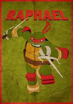 TMNT: RAPHAEL by ~GTR26 | deviantART