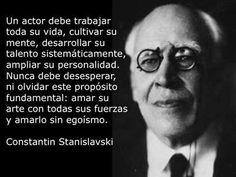 Actor / Arte / Stanislavsky