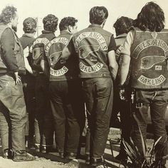 Great photo! #hellsangels #motorcycleclub #bikers #vintagephoto Hells Angels, Honda, Angels Logo, Biker Quotes, Triumph, Motorcycle Clubs, Easy Rider, Biker Chick, Harley Davidson Motorcycles