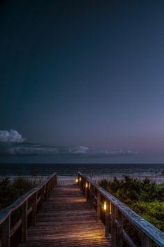 Licht zum offenen Meer.