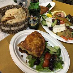 Greek Dinner #greek #fusion #foodporn #milano