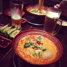 [担々麺*2013/01/01]     ラーメン部番外編ฅ꒰⌣̈∗꒱♪*       担々麺˪        @光麺