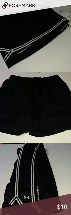 UNDER ARMOUR athletic shorts UA athletic shorts semi sheer mesh material. GUC. Has drawstring and elastic waist. BUNDLE and save!!! Under Armour Shorts