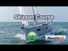 The NauticEd Skipper sailing course is the fundamental building block for all NauticEd Sailing Certifications. It's a beginner to intermediate cross training. Sailboat Living, Living On A Boat, Leeward Side, Sailing Courses, Sailing Lessons, Buy A Boat, Boat Stuff, Catamaran, Sailboats