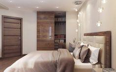 Дизайн спальни в спокойных тонах | Студия LESH (дизайн интерьера, полотно, спальня, кровать, современная спальня, маленькая комната, интересные идеи)
