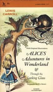 R.C. Sherriff - Journey's End- p.62   'Trotter: Alice's Adventures in Wonderland - why, that's a kid's book !'