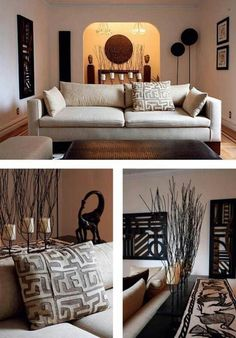 south african american home decor