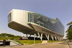 ING House - Amsterdam, The Netherlands;  designed by Meyer en Van Schooten;  photo by Wojtek Gurak, via Flickr