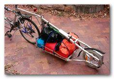 Bicycle Trailer Design - Single Wheeler