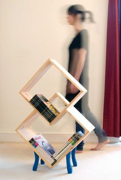 The Ultimate Ikea Hack? This is an Ikea hack. Not sure what the original product is but it is so fun. -- looks like wall shelves adaptedThis is an Ikea hack. Not sure what the original product is but it is so fun. -- looks like wall shelves adapted Ikea Hacks, Ikea Hack Storage, Box Storage, Diy Hacks, Storage Ideas, Ikea Furniture, Furniture Design, Furniture Plans, New Swedish Design