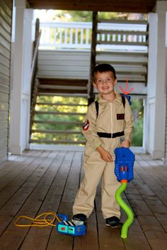 Kids Ghostbusters Ghost Busters Uniform Jumpsuit by PrecisionPandS