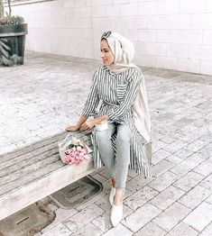 How to wear shirt dress with hijab – Just Trendy Girls