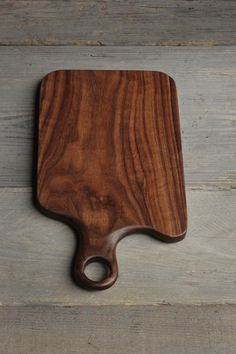 Black Walnut Cutting Board Hand crafted one of a kind