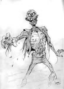 Scary Zombie Drawings - Bing Images