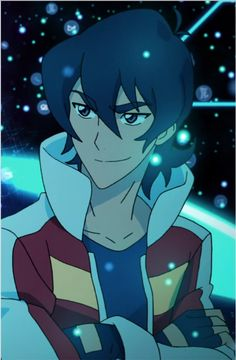 Keith from Voltron Legendary Defender. Keith is so handsome.