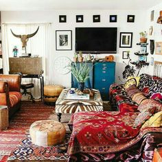 Boho room - the New Bohemians book - Justina Blakeney