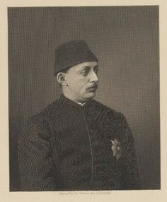 Murad V, Sultan of the Ottoman Empire by George J. Stodart, published by William Mackenzie, after Unknown artist stipple and line engraving, late 1870s-1880s. Purchased with help from the Friends of the National Libraries and the Pilgrim Trust, 1966 © National Portrait Gallery, London National Portrait Gallery, Stippling, Ottoman Empire, Vintage Travel Posters, Pilgrim, Libraries, Trust, London, Friends