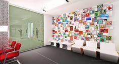 Make My Trip- Travel Office Design on Behance