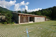 Cesare Piva - piva, Paolo Piva / Area attrezzata per parcheggio campers nel Parco Burcina